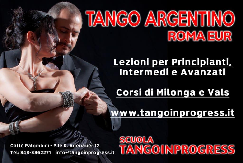 scuola di tango a roma- corsi e sedi TANGOINPROGRESS