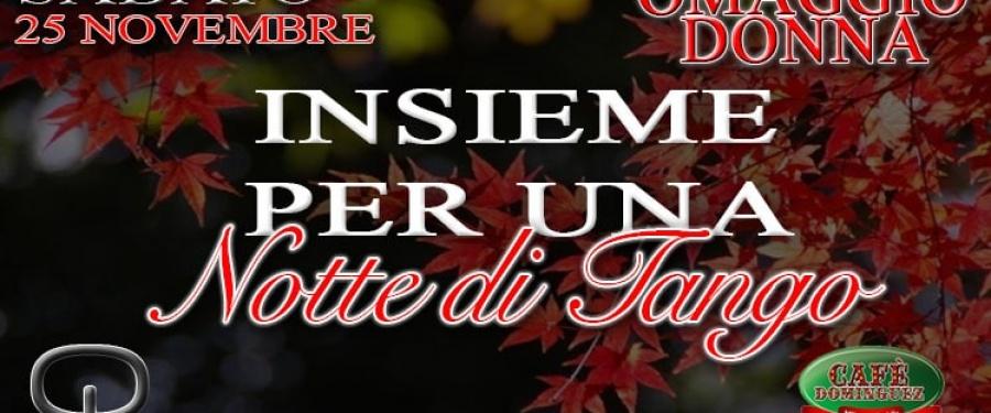 QUERER & Cafè Dominguez Sabato 25 Novembre Omaggio Donna