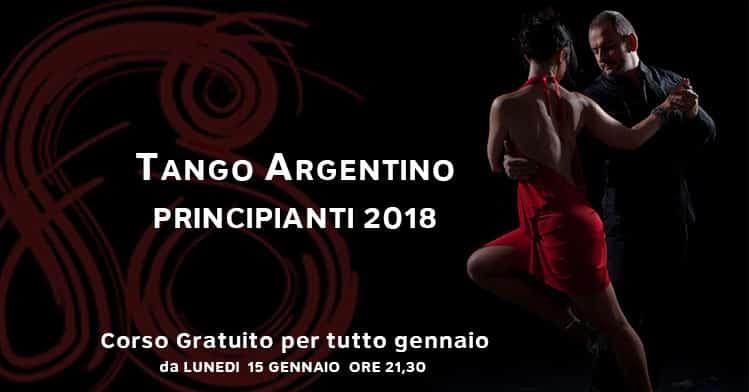 tango argentino corso principianti gratuito 2018