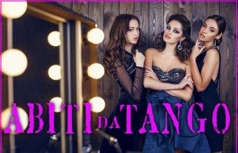 abiti da tango, abbigliamento per la milonga