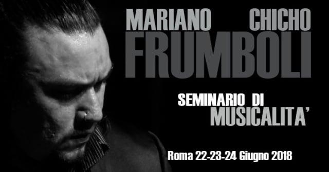Mariano Chicho Frumboli Seminario di Musicalità Tango