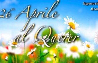 Querer 26 aprile omaggio donna al caffè palombini