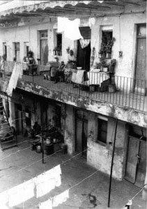 Storia del Tango, Conventillos