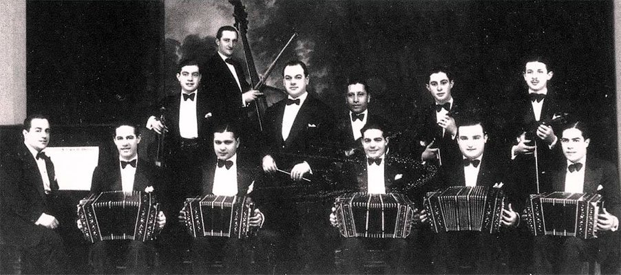 Storia del Tango